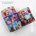 YJHSMY D-171204-394,25 мм, 5 ярдов, Мультяшные ленты со слоном, Термотрансферная печатная корсажная лента, аксессуары для одежды, подарочная упаковка «...
