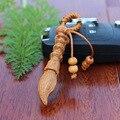 1 шт. деревянный Китайская кисть Брелок для студент лаки резные классический Автомобиль брелок кулон Брелок деревянных аксессуаров