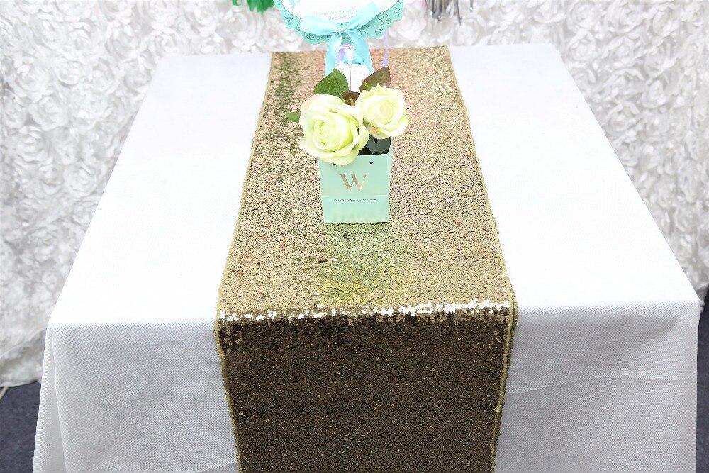 Sequin tablecloth wedding cake table runner shiny sequin for 120 table runner christmas