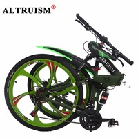 Altruism X9 Fietsen Aluminium Mountainbike 26 Inch Dubbele Schijfrem Fietsen 24 Jonge Mannen Vrouwen Mountain Fiets Speed Bikes