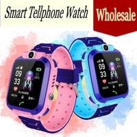 Wholosale Высокое качество Новые водостойкий трекер умные детские часы анти потерянный SOS Вызов умные часы для iOS Android