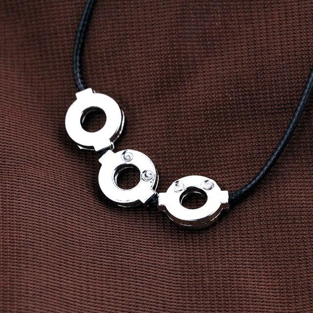 Naruto Uchiha Itachi necklace Leather Chain choker