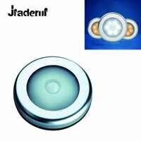 Jiaderui Luce di Notte Pratico LED Induzione Lampada Armadio Corpo PIR Sensore di Movimento Attivato Lampada Da Parete Armadio Corridoio Armadio