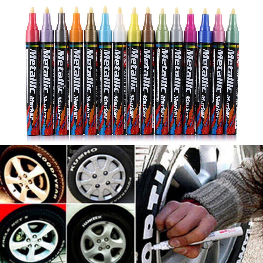 2019 Car Motorcycle Waterproof Auto Car Coat Painting Pen Touch up Scratch Clear Repair Remover Marker Tools Accessories