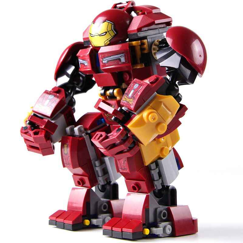 New Superheroes Hulkbuster Smash-U Building Blocks Compatible Iron Man 76104 Marvel Avengers Endgame Infinity War Hulk Buster