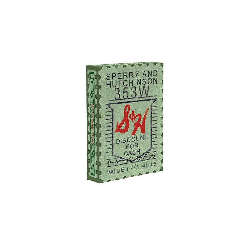 Poker 1 set poker S & H timbres verts jeu de cartes uno jeu de cartes jeux de société poker iskambil destesi vente en gros étanche