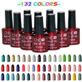 Hot Sale 7.5ML Gel Lacquer DIY Nail Art Colorful Nail Gel UV Gel Set UV LED Lamp Curing  LED UV Nail Gel Long Lasting