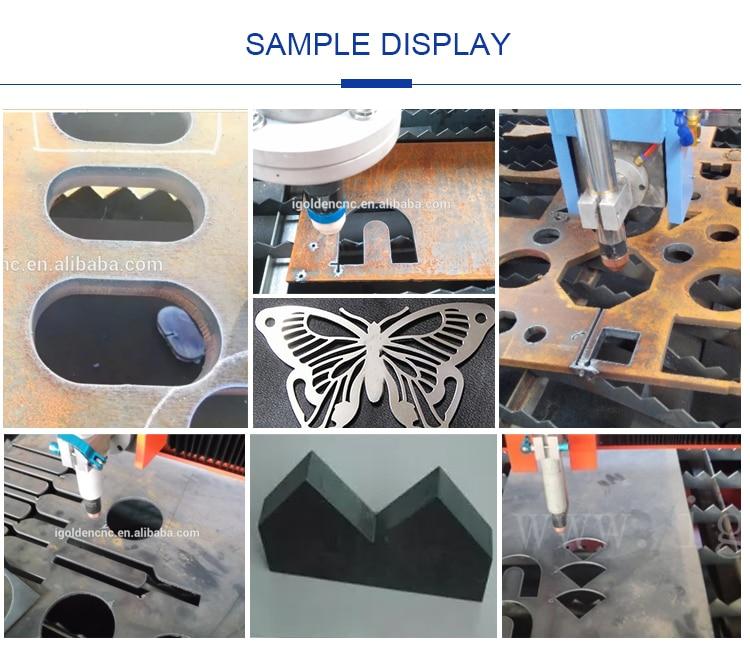Plasma CNC Cutting Machine 4th Axis CNC Plasma Cutter with Rotary Device 6