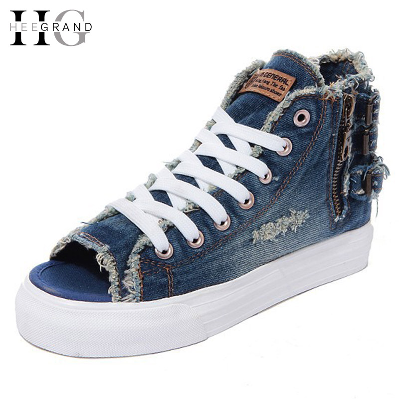 Denim verano Loafers Slip On Enredaderas Pisos Zapatos de Las Mujeres Ocasionale
