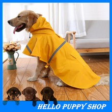 New Large Dog Raincoat Coat Leisure Pet Clothes bBig