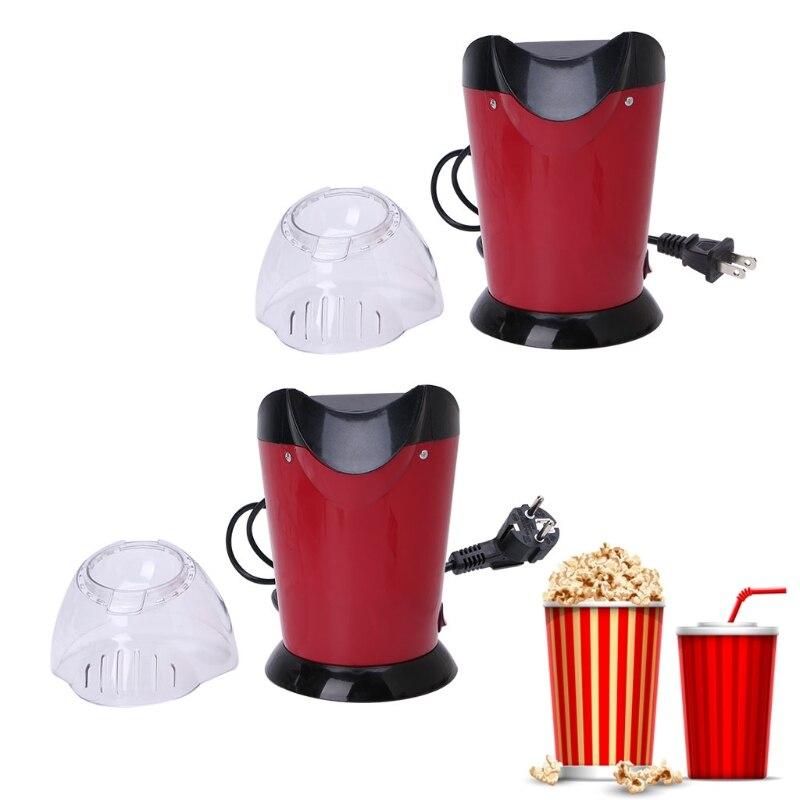 1200W Hot Air Mini Popcorn Making Machine Maker Corn Poping Popper US/EU Plug pop 06 economic popcorn maker commercial popcorn machine with cart