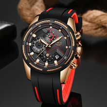 цена 2019 New LIGE Mens Watches Top Brand Sport Quartz Watch Men Chronograph Multi-function Dial Waterproof Clock Relogio Masculino онлайн в 2017 году