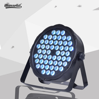 par led 54x3w Stage Lights DMX 512 for Home Wedding Party Church Concert Dance Disco Lighting