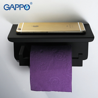 GAPPO tissue holder wall mounted accessories bathroom holders bathroom tissue holder bars toilet holders
