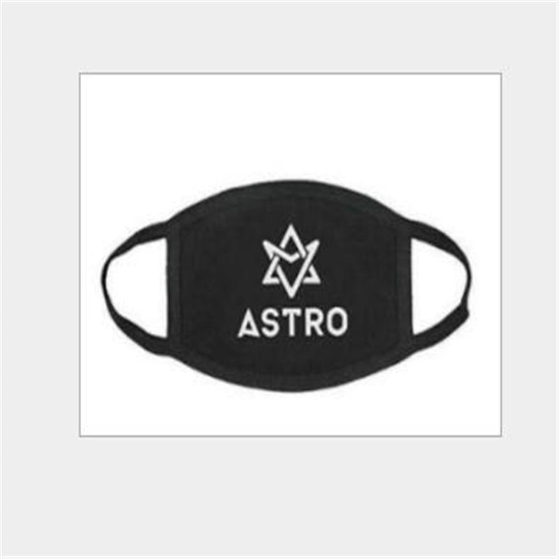 Apparel Accessories Kpop Astro For Women Men,cotton Letters Print Soft Mask,h029
