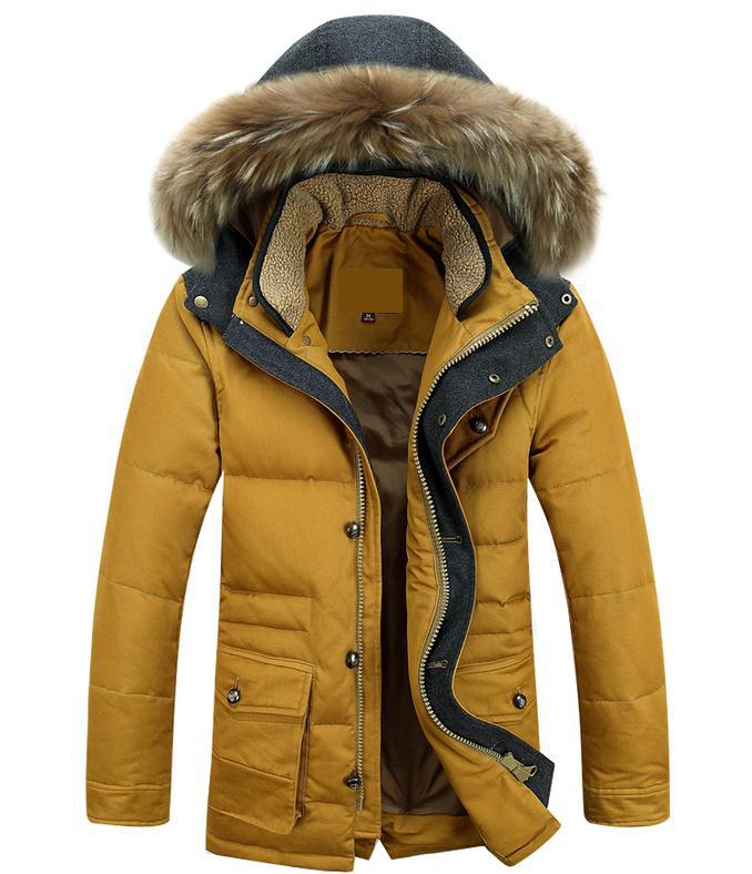 Men's Fashion Personality Thickening Cotton-padded Jacket Winter Winter Jacket Color Warm Man