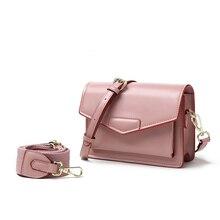 Bolsa de hombro Rosa dulce dama regalos para el Día de San Valentín para La novia de moda de Color sólido de la correa de hombro bandolera bolso de negocios