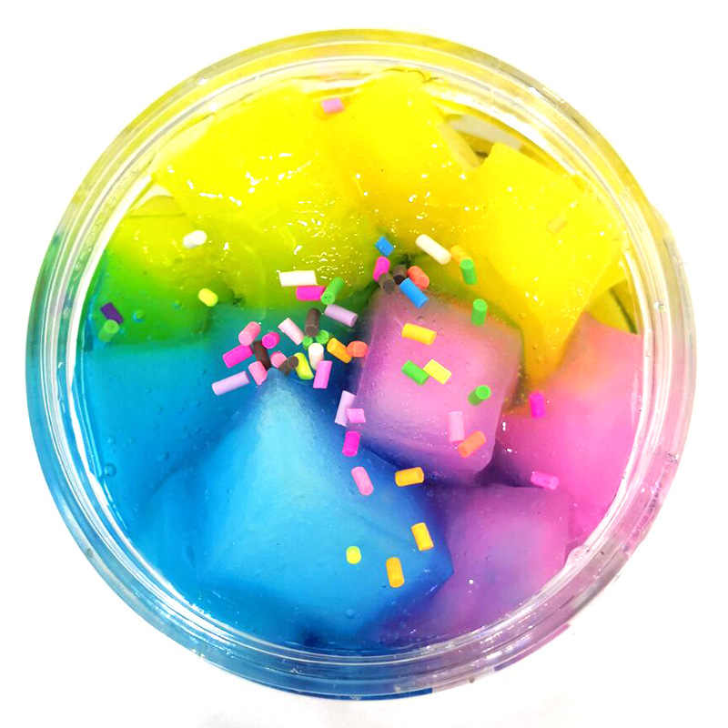 New Arrival DIY Cotton Slime Clay Plasticine Fluffy Slime Stress Relief No Borax Mud Hand Gum Scented Slime For Kids Stop Stress