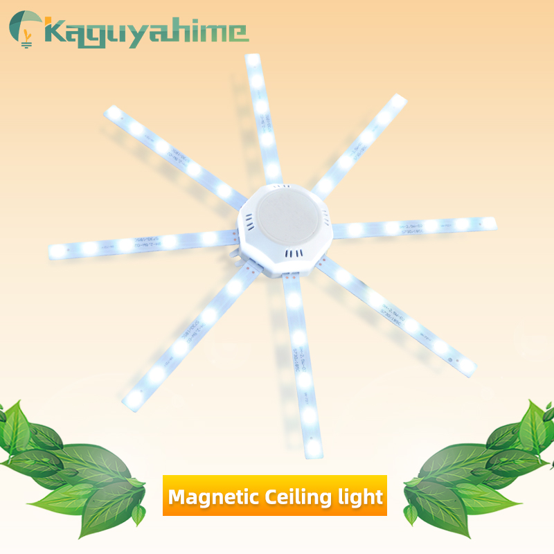 Kaguyahime Octopus Light LED Ceiling Lamp Magnetic Modified Source 24W 20W 16W 12W Energy Saving Lamp Tube 220V LED Light Board
