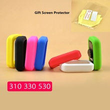 цена на Bicycle Silicone Rubber shockproof Protect Cover Case For Bryton 310 330 405 410 530 Bike Cycling GPS Computer  Accessories