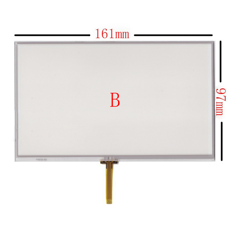 New 7 Inch 4Wire Resistive Touch Panel Digitizer Screen For Prology IMap-7100 IMap-7300