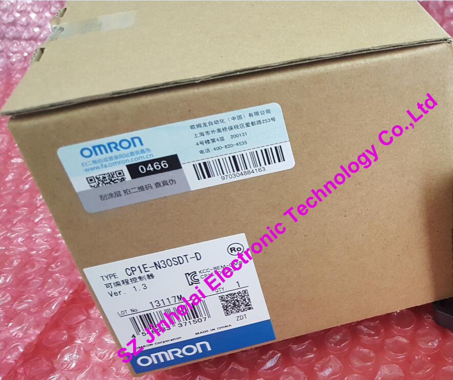 CP1E-N30SDT-D New and original OMRON PLC CONTROLLER , PLC MODULE cp1e na20dr a new and original omron plc controller plc module