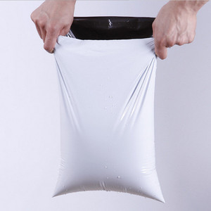 Сумка-конверт leotrust Milk White, полиэтиленовая, клейкая, для почтовых отправлений
