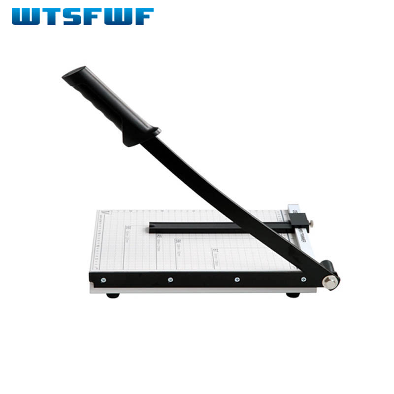 Wtsfwf Manual Paper Cutting Machine A4 Paper Cutter A4 Paper Guillotine Cutter Manual Paper Trimmer 2017 new manual rotary paper cutter trimmer 310mm 20sheets paper cutting and perforating double function new design