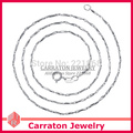 Carraton NSYS6015 Fashion Genuine 925 Solid Silver Chain Necklace