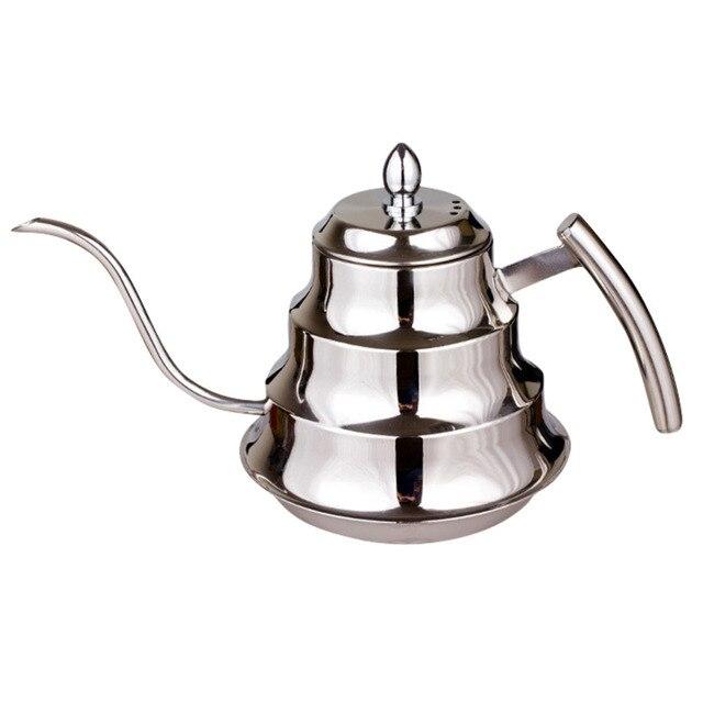 High Quality Kitchen Turkey Coffee Pot Stainless Steel Drip Kettle Green Pu Er Tea