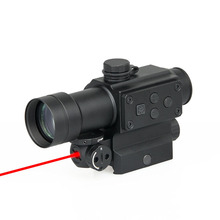 цена на PPT Tactical Optics Red Dot Sight 1x30 red green dot sight with red laser for Hunting Shooting GZ2-0108