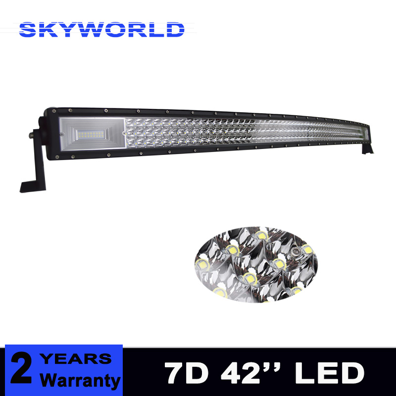 42'' 540W 3 Rows Led Work Light Bar for Tractor Boat OffRoad 4WD 4x4 Truck SUV ATV Driving Motorcycle 12V 24V 21w round led work offroad light spot lamp 10 30v led driving light 4wd atv boat truck 4x4 tractor motorcycle working headlight
