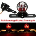 Motorcycle Rear Tail Brake Stop Light License Plate Bracket For Harley /Cafe /Race