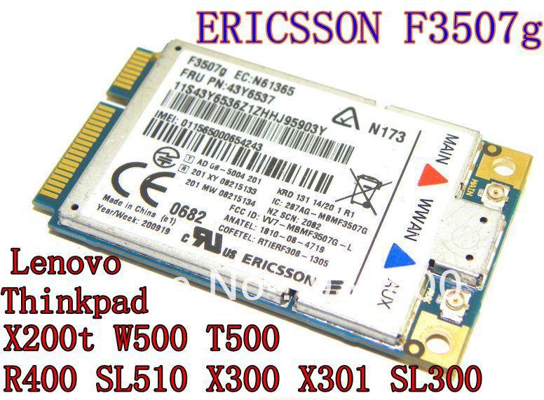 Lenovo ThinkPad SL400 Ericsson WWAN Treiber Windows XP