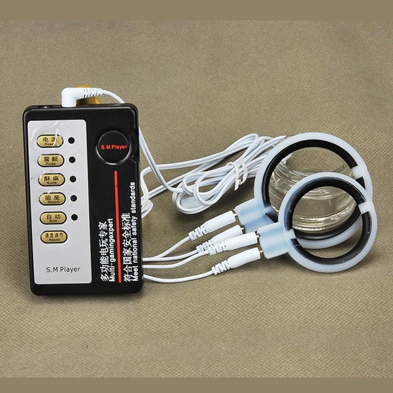 Medical Themed Toys Electro Shock Big Anal Plug Kit,Aluminium Electro Therapy Butt -2902