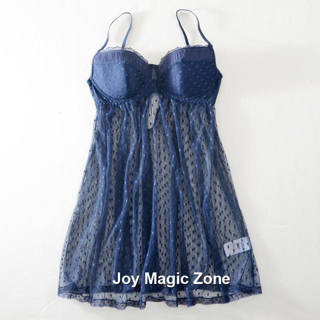 Yomrzl nova chegada do verão gaze camisola de uma peça sleepwear das mulheres plus size 95 copo com decote em v sono vestido A027