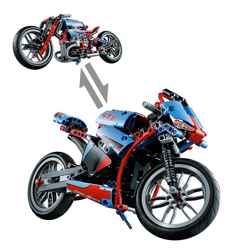391 stücke yile 107 2 in 1 Neue Technische Motorrad Motorrad auto ...