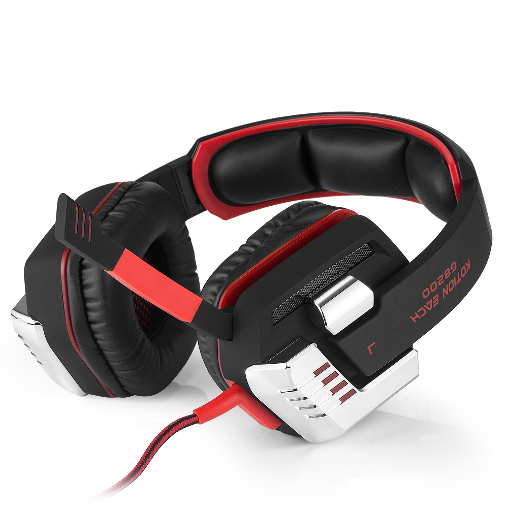 EACH G8200 Wired Headset 7.1 Virtual Surround Sound Gaming USB ...