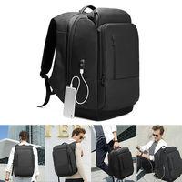 Men Laptop Backpack Waterproof Multi Functional Travel Rucksack with USB Port New