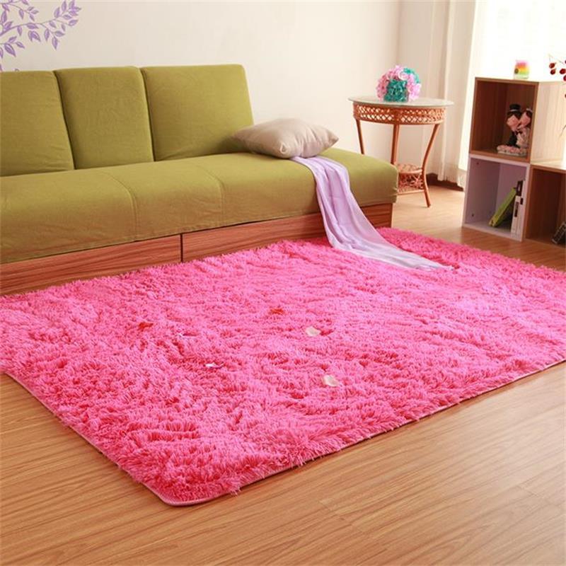 Tapis d'épaississement en peluche 200*300 CM pour salon et chambre tapis et tapis antidérapants modernes tapis de sol pour chambre d'enfants - 2