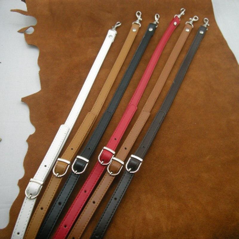AEQUEEN 120CM Bag Strap PU Leather Shoulder Belts Replacement Crossbody Bag Straps Adjustable Long Belts Bands DIY Bag Parts pu adjustable strap hat shaped girls mini bag