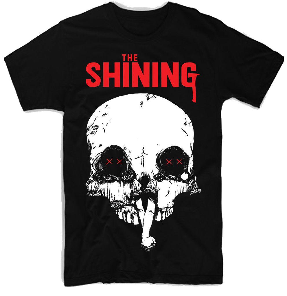 THE SHINING, MOVIE, 100% COTTON,Short Sleeves New Fashion T-Shirt Men Clothing