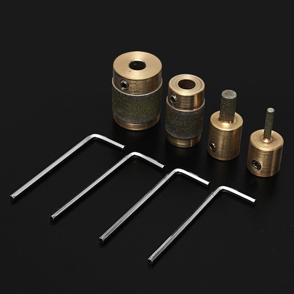 4 Standard Brass Grit Grinding Bits 1