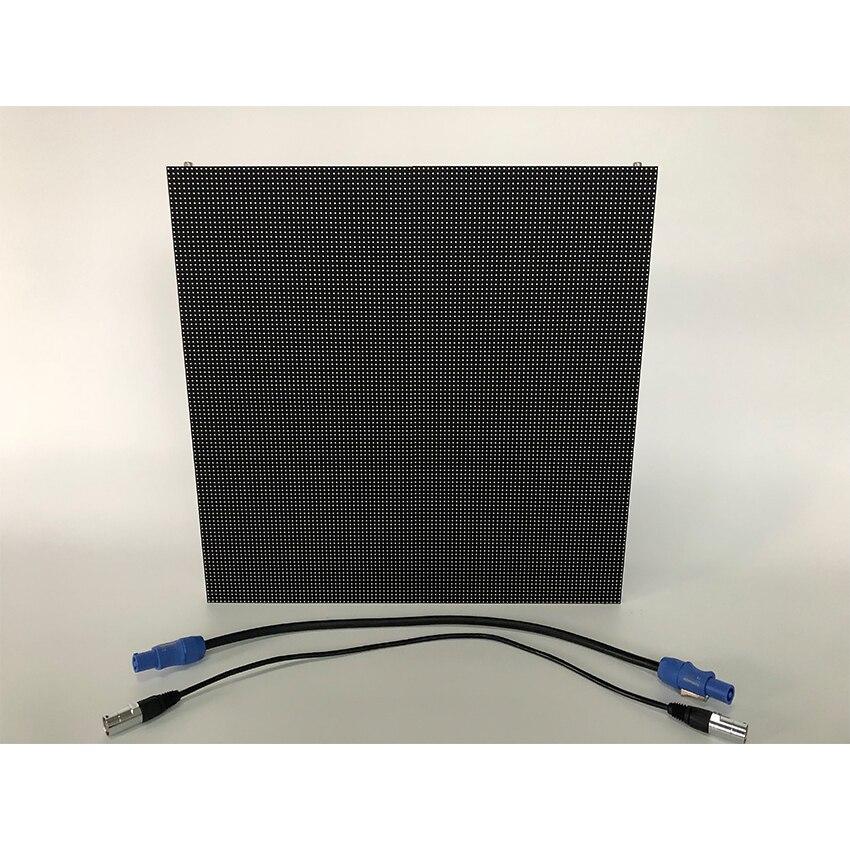 P4.81mm 500x500mm intérieur mur vidéo LED d'armoire en aluminium de moulage mécanique sous pression, panneaux d'écran d'affichage de LED pour la publicité