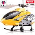 Caliente! Syma S107G aviones mini de cuatro ejes aviones aérea aérea UFO telecontrolled aviones enfriar avión de juguete para el niño