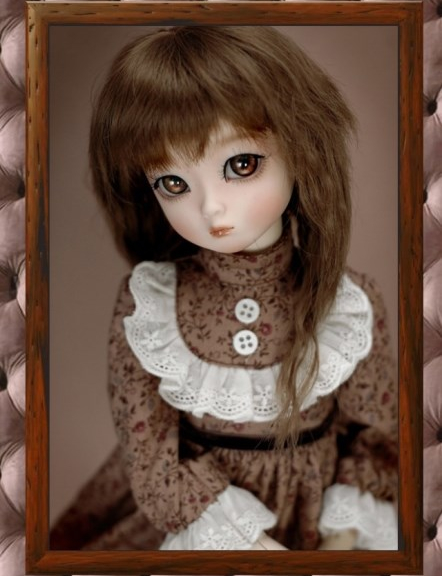 1/4th scale 42cm  BJD doll nude with face Make up,Dress up. SD doll girl LOVELy DAMI .not included Apparel and wig 1 4 bjd dollfie girl doll parts single head include make up shang nai in stock
