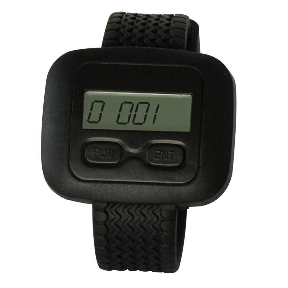 SINGCALL Беспроводная система обслуживания официанта, обслуживание на заказ, 10 шт черные кнопки и одни часы для официанта
