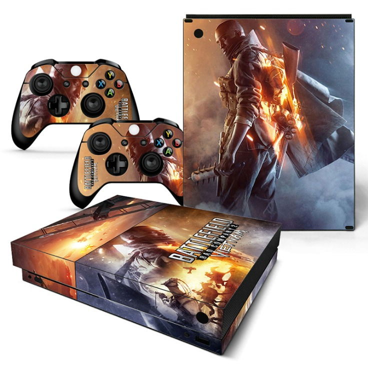 Battlefield Protective Design decal For XBOX One X Console