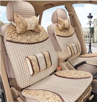 Car seat cover hatchback sedan summer car seat four seasons universal ice silk cooling pad