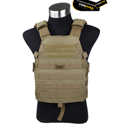 2016 CB 6094B Plate Carrier Tactical Chest Rig Genuine 500D Cordura Chest Carrier Brown tactical Chest rig